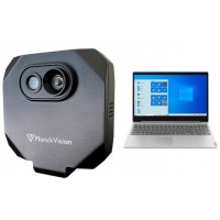 Planck Vision Systems ThermaCheck - Package with Temperature Monitoring Device and Laptop
