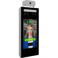 Richtech AATSS-V1B - Automated AI Temperature Screening Kiosk System, Standalone Version; with Wall Mount
