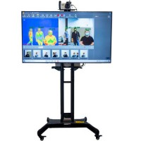 FOTRIC 226B TEMPERATURE SCREENING WITH A.I. FACIAL DETECTION, PACKAGE WITH STAND, MONITOR, LAPTOP AND SIGNAGE