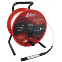 "Solinst 107 (114792) TLC (temp/level/conductivity) meter with 3/4"" probe & metric increments, 60m"